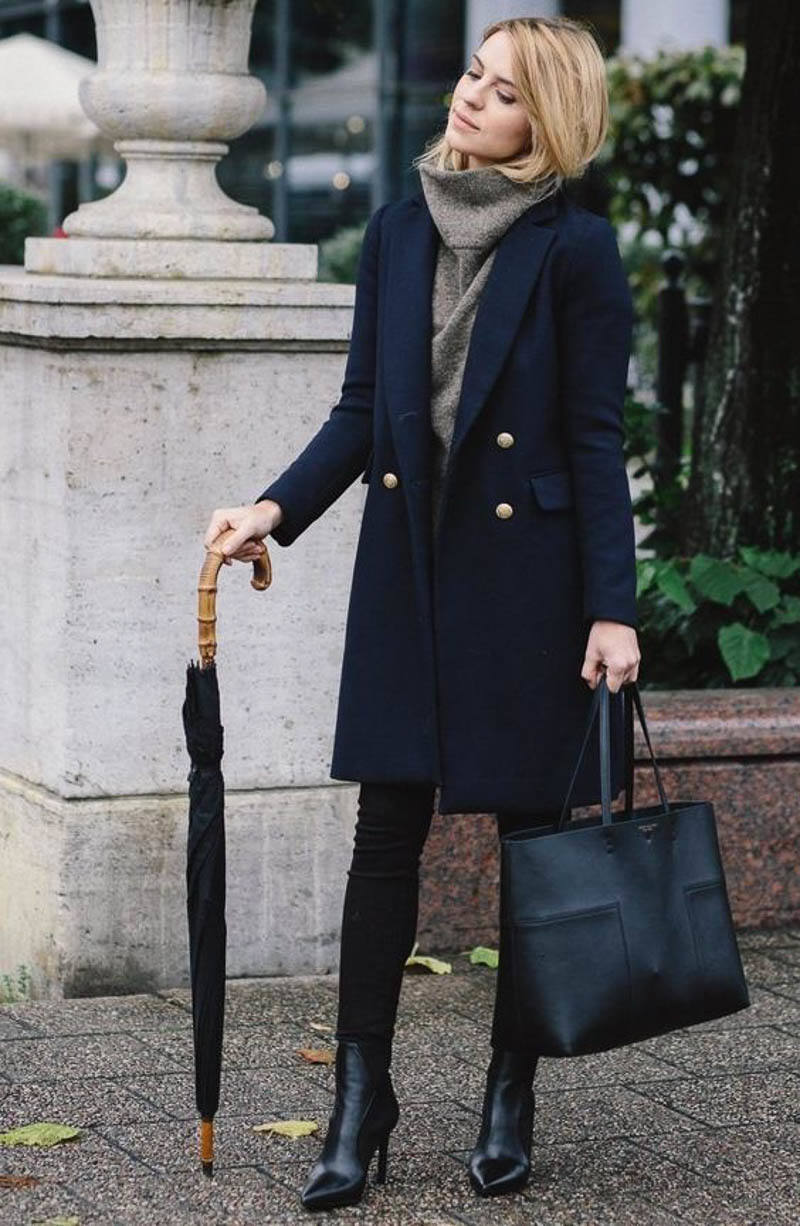 Designer Bag Street Style Outfit Celebrity