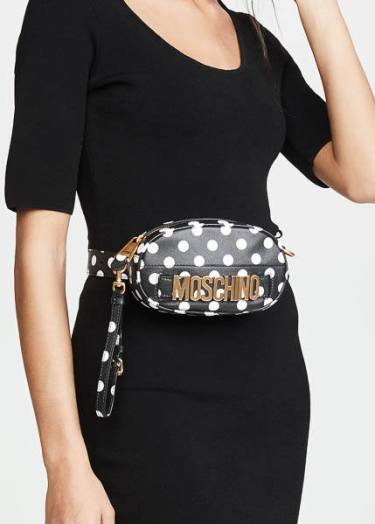 Moschino Polka Dots Moschino Belt Bag