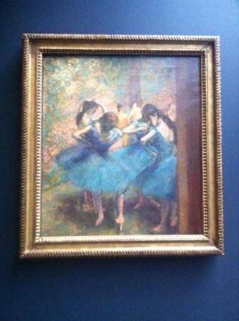 As bailarinas de Degas