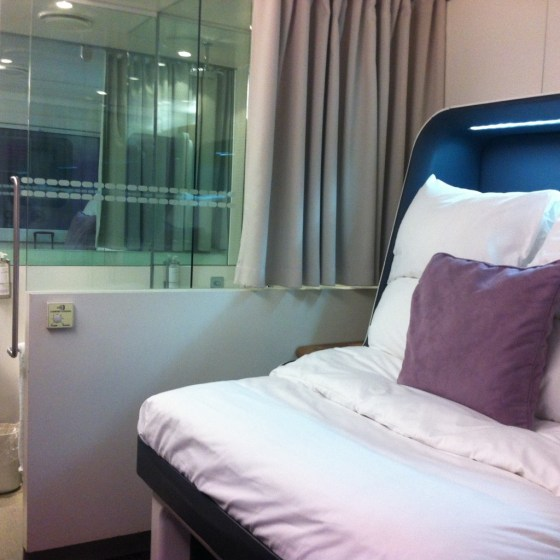 Premium cabin, 49 £ for 4 hours and 9£ each extra hour