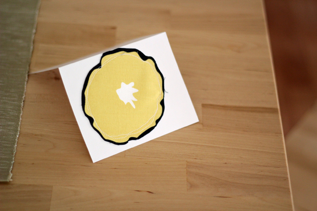 Morning Glory card - from Marta with Love