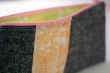 indian summer zip pouch