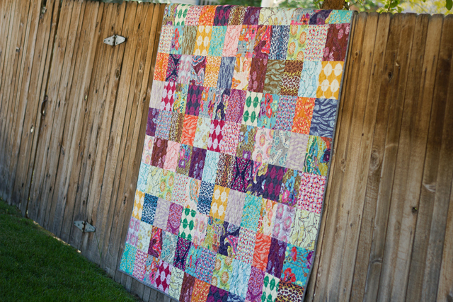 from Marta with Love - Field Study Patchwork Quilt