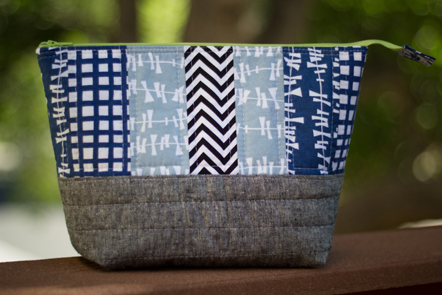 from Marta with Love - manly(ish) zip pouch