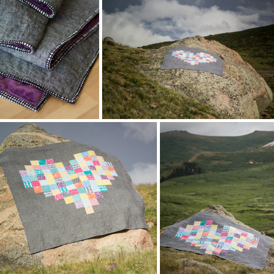 Love BIG Quilt | from Marta with Love