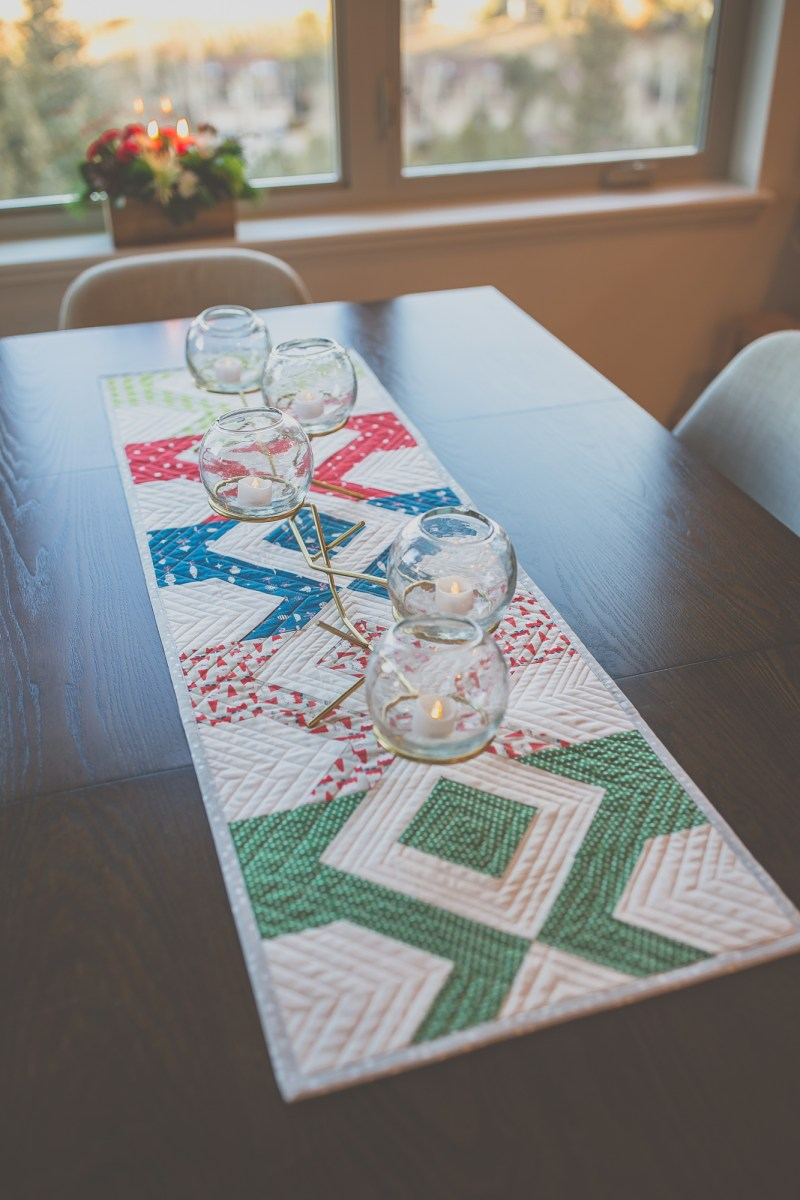 Laguna Table Runner Pattern