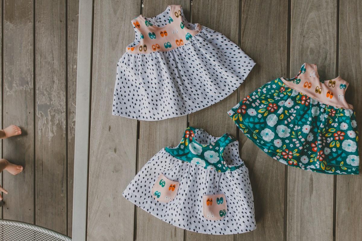 Knit Geranium Dresses