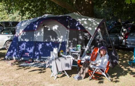 Casini Ranch - Our Tent