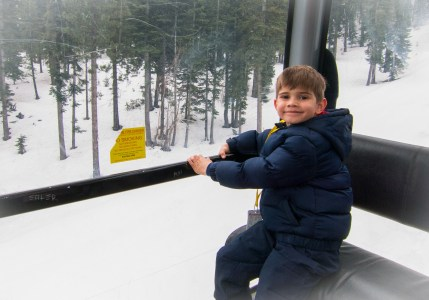 Gondola ride to the check out the Ritz