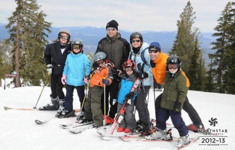 Family fun at Northstar