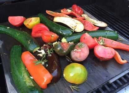 Grilled veggies La Plancha