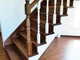 Лестница на закрытом каркасе