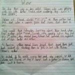 Short stories written by my son