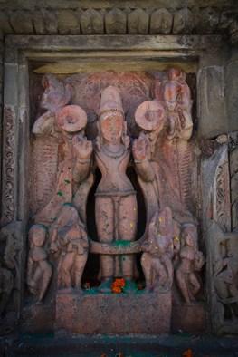 Ruins at the Vishnu temple