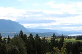 One last look from the house we stayed at in Salmon Arm.