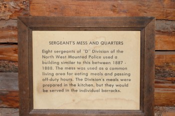 Sergeant's mess and quarters