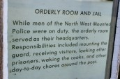 Orderly room and jail