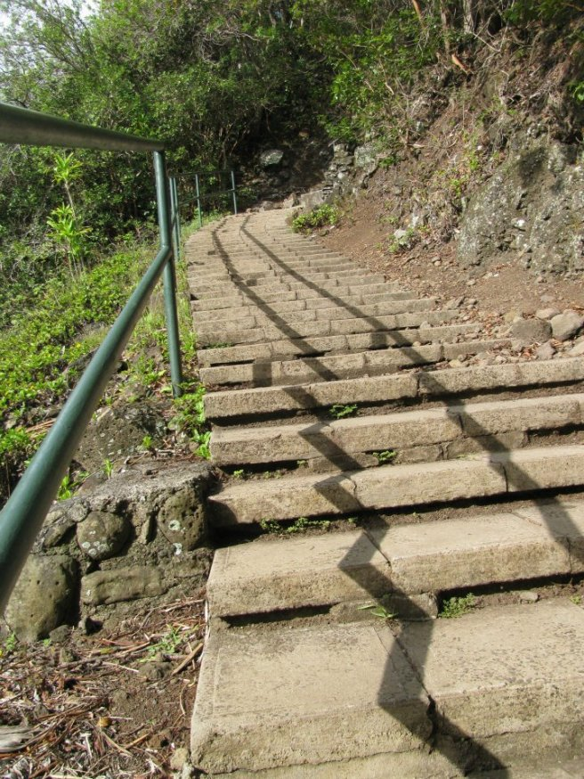 In Maui, Hawaii: 150 steps to get closer to 'the needle'
