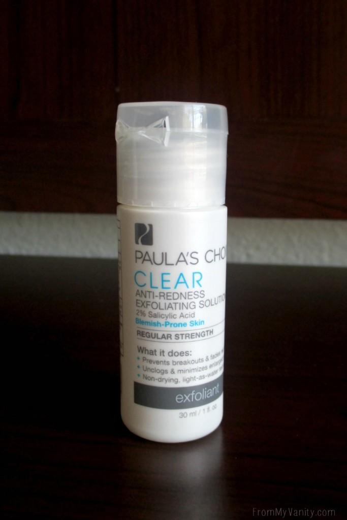 I am officially a fan of liquid exfoliants thanks to Paula's Choice!