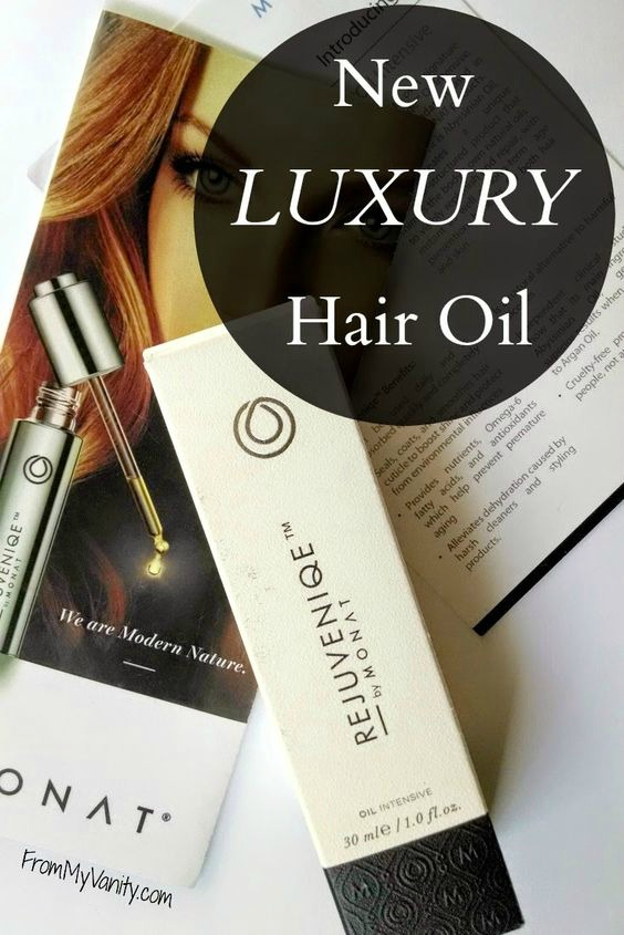A new and fantastic hair oil from MONAT to tame and frizzes! | Rejuvenique Oil Intensive | FromMyVanity.com