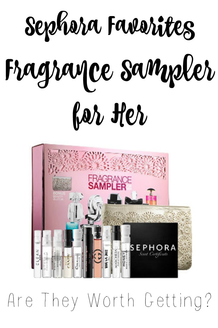 I've seen these Sephora Favorites Fragrance Sampler sets at Sephora before, but have been curious if they're worth getting. | FromMyVanity.com