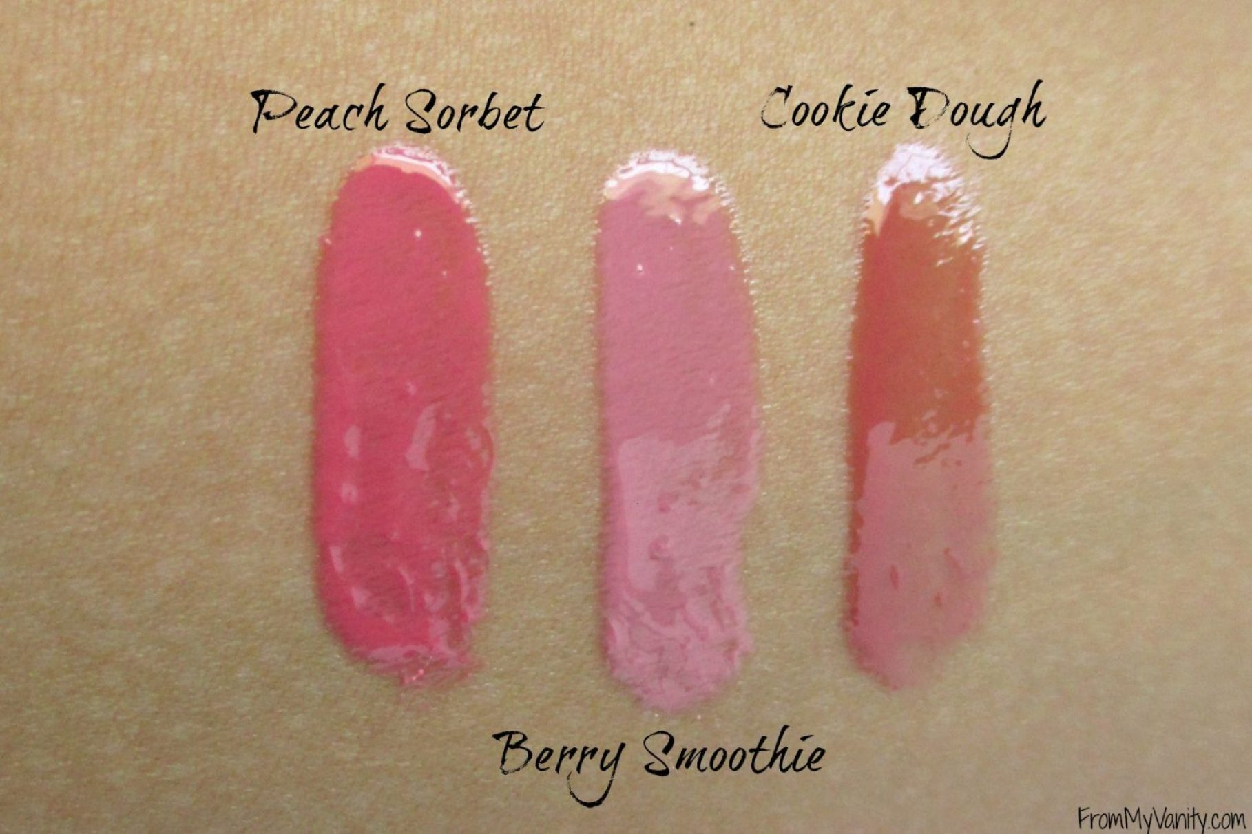 Laura Geller Color Luster Lip Glosses // Swatches // From My Vanity