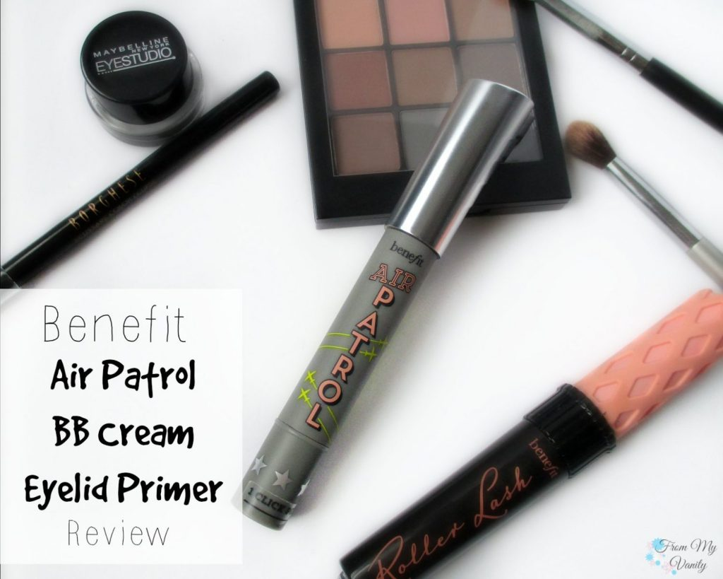 Benefit Air Patrol BB Cream Eyelid Primer // Review // FromMyVanity.com