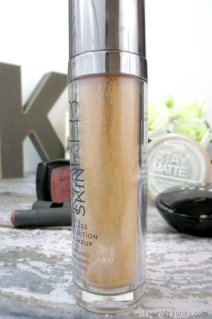 Urban Decay's Naked Skin Foundation is a holy grail item for me!