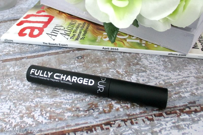 My vanity looks complete with this gorgeous, chic mascara tube from PUR Cosmetics | FromMyVanity.com