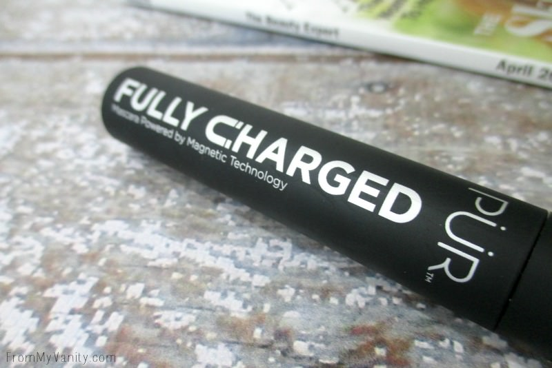 Close up of PUR Cosmetics Fully Charged Mascara | FromMyVanity.com
