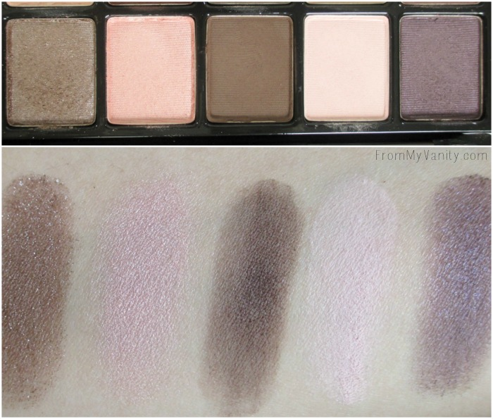 Revlon ColorStay Not Just Nudes | Romantic Nudes palette | Second Row | FromMyVanity.com