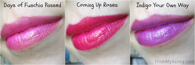 Wet n Wild Metallic Liquid Lipstick Summer Collection Lip Swatches, round two!