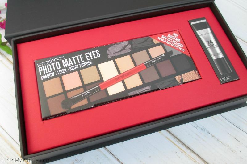 New Photo Matte Eyes palette from Smashbox