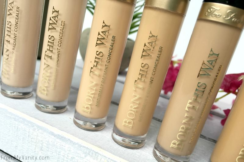 Check out the new Too Faced Born This Way concealers