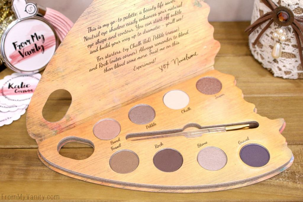 Colour Prevails Nude & Natural eyeshadow palette