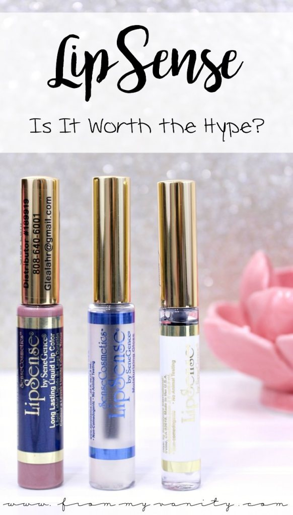 Is LipSense worth the hype? Is it really smudge proof and long wearing? This product is gaining ground quickly on social media and this informative review will tell you if its worth all the buzz!