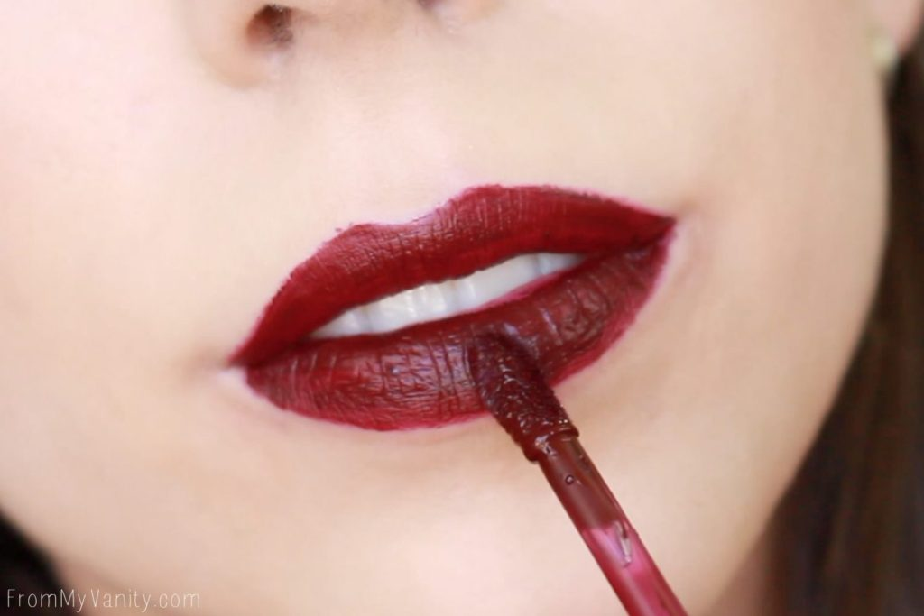 Wet n Wild Liquid Catsuit Matte Lipsticks | Video Vixen | Lip Swatch