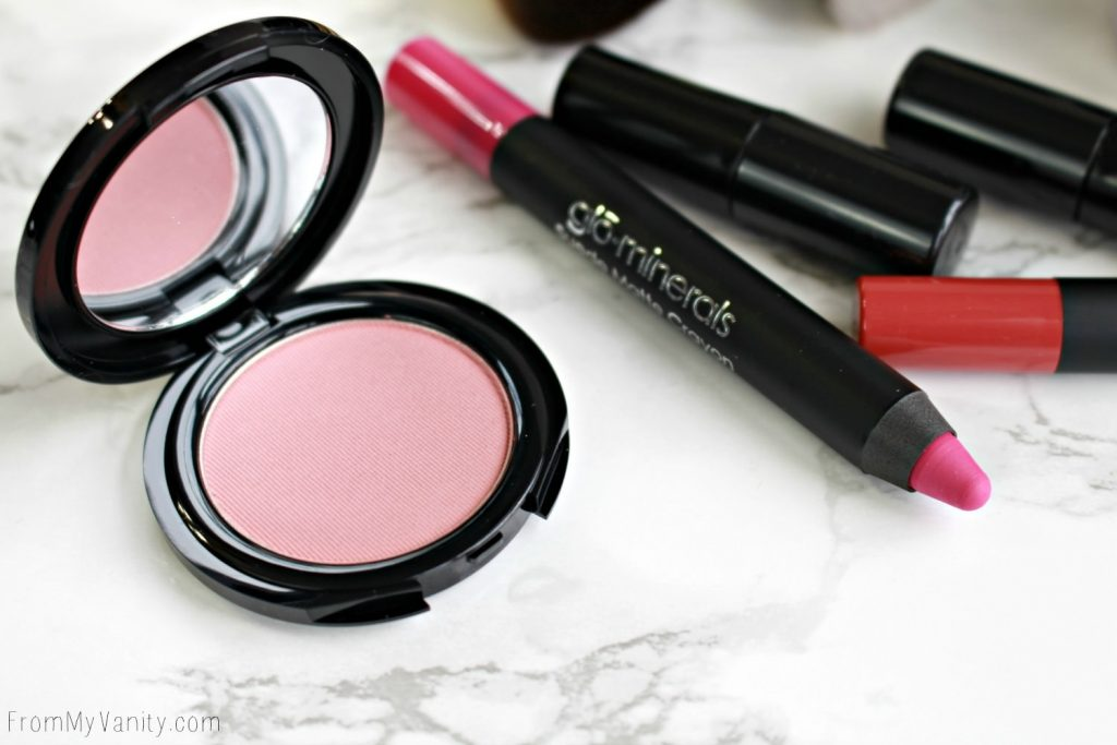 Date Night Makeup with Glo Minerals | Rosebud Blush