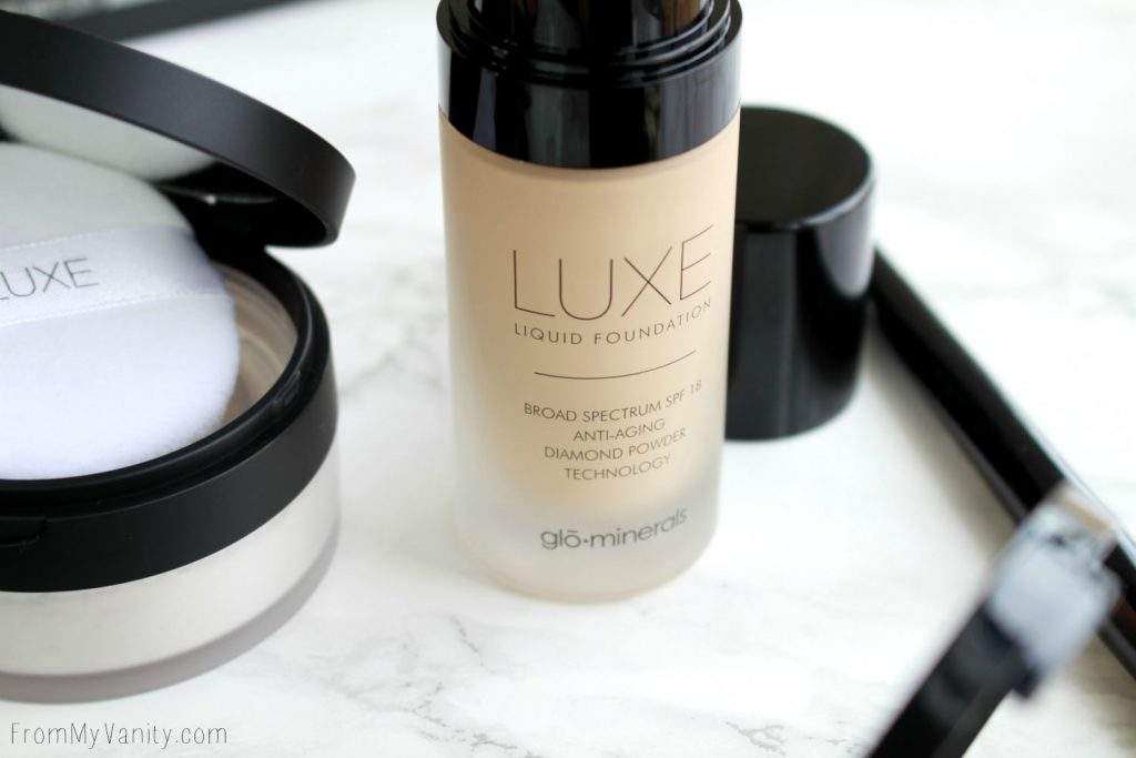 Date Night Makeup with Glo Minerals | Luxe Liquid Foundation
