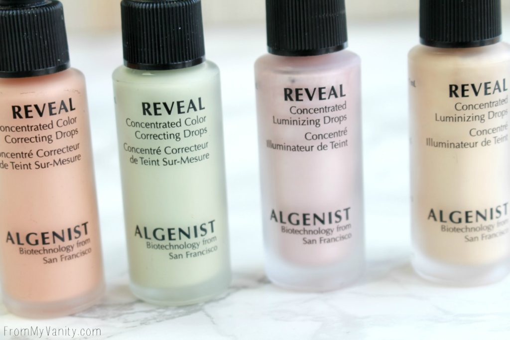 Algenist Reveal Concentrated Drops | The Secret to Natural Makeup? | Concentrated Color Correcting Drops and Concentrated Illuminating Drops