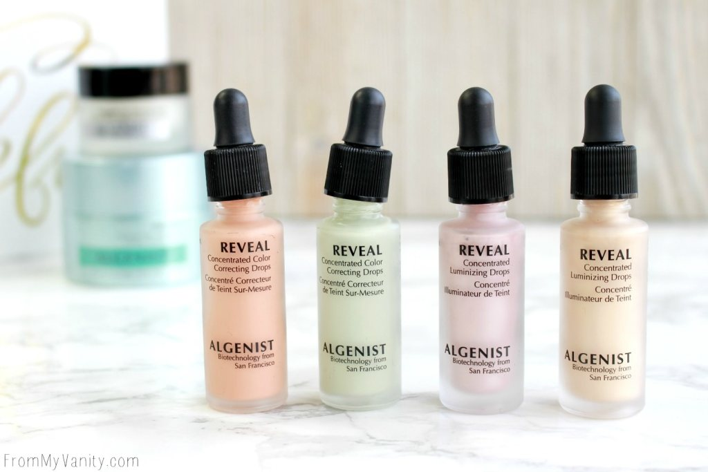 Algenist Reveal Concentrated Drops   The Secret to Natural Makeup?