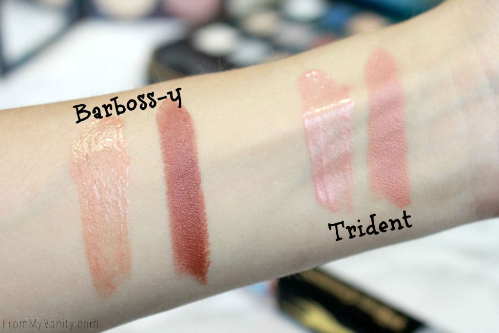 LORAC + Pirates of the Caribbean Collection | Review, Swatches, and Demo | MOD Lip Cream Swatches | Barboss-y | Trident