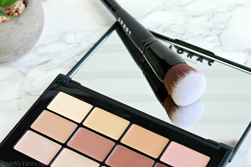 LORAC PRO Conceal/Contour Palette | Double-Ended Brush