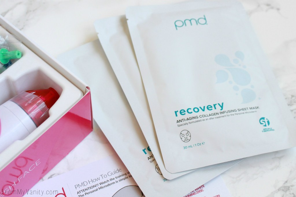 A REAL Beginners Guide To Using Your PMD MicroDerm | Anti Aging Recover Sheet Masks