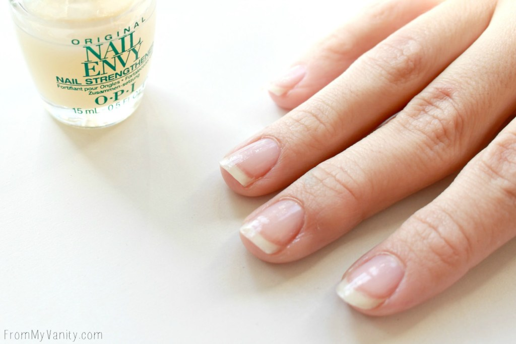 Easy Dotticure Nail Art   Tutorial   OPI Nail Strengthener