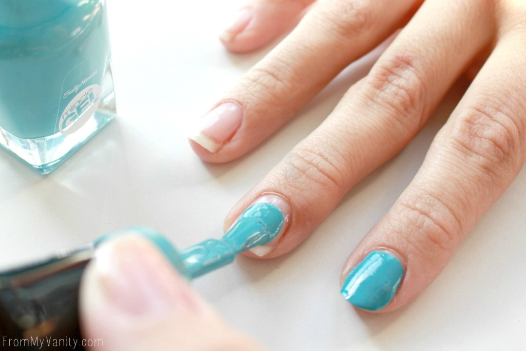 Easy Dotticure Nail Art   Tutorial   Step 2