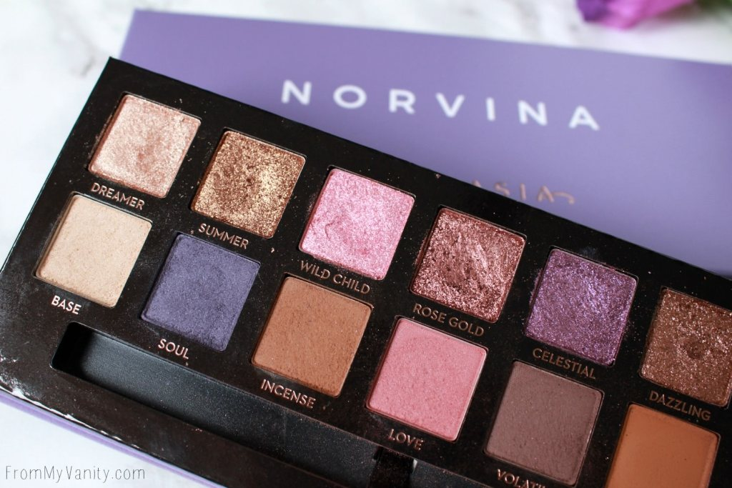 ABH Norvina Palette | Review, Swatches, + Tutorial | Anastasia Beverly Hills Palette