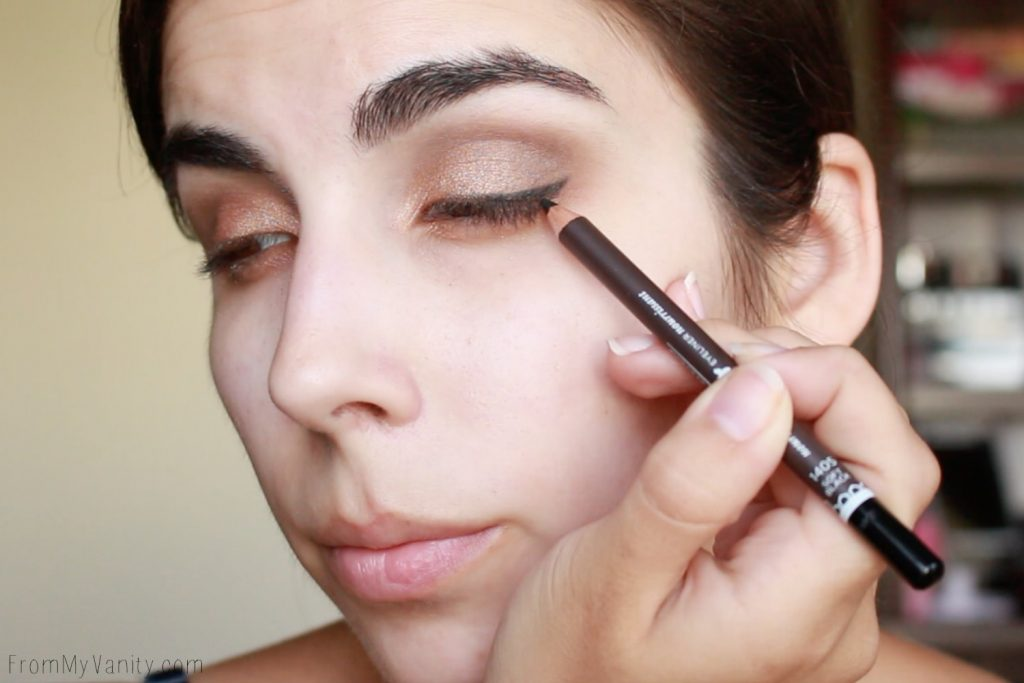 Back to College Makeup Routine with Burt's Bees | eye pencil