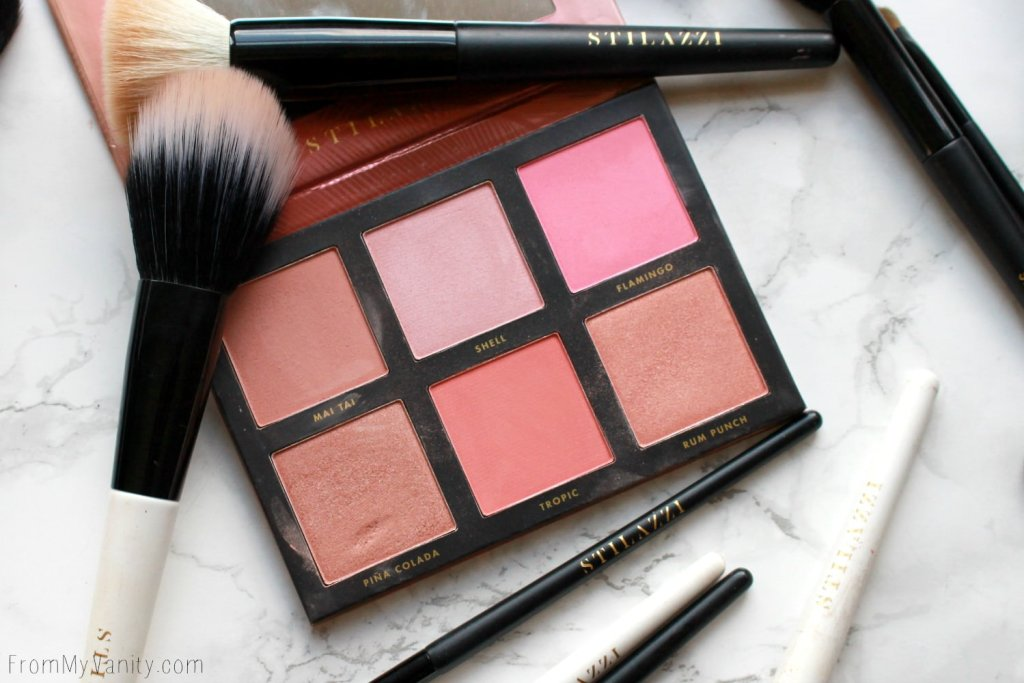 Stilazzi Brand Review | Hits and Misses | Blush Palette in Bahamas