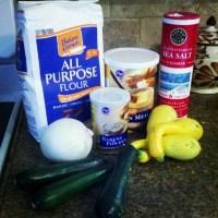 Squash and Zucchini Puffs